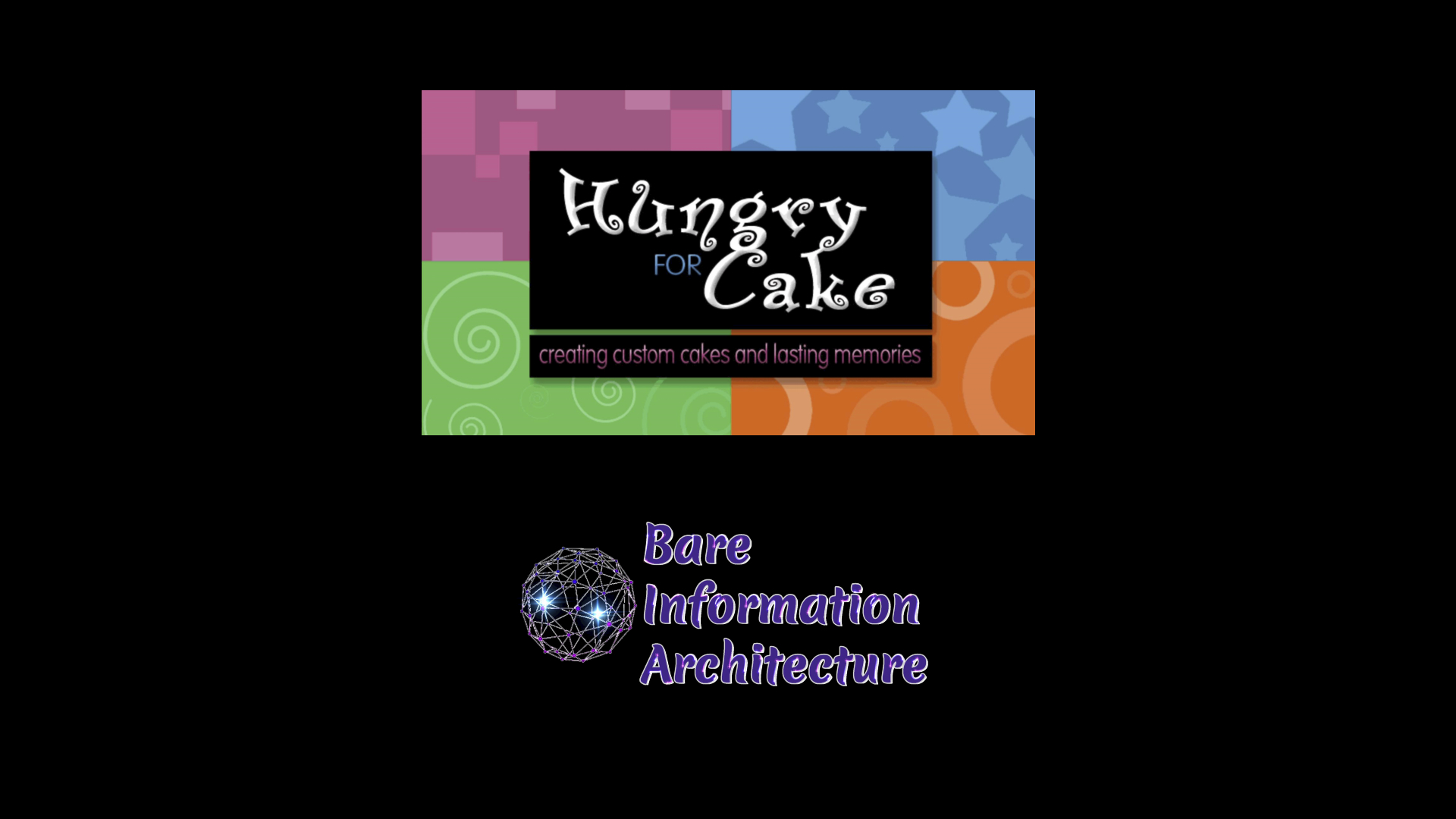 Hungry For Cake Animated Logo