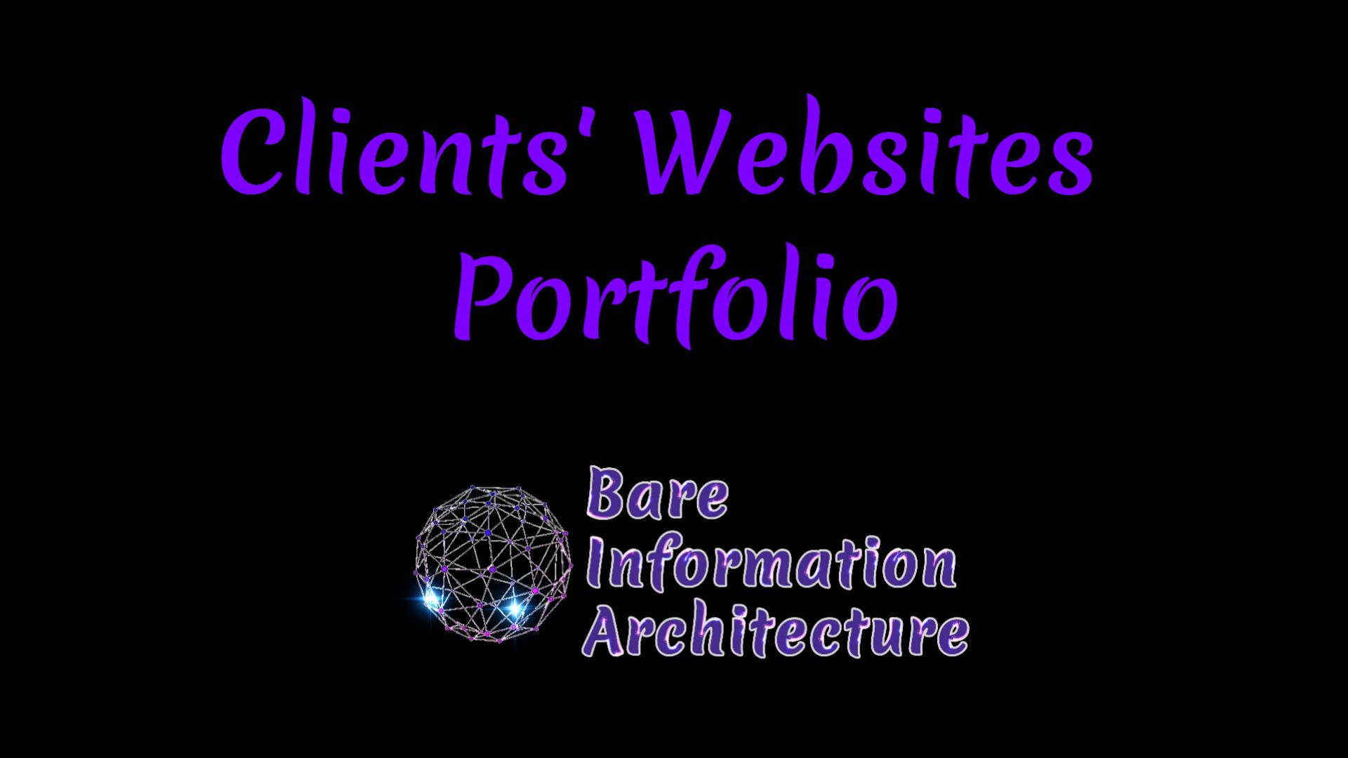 Clients' Websites Portfolio